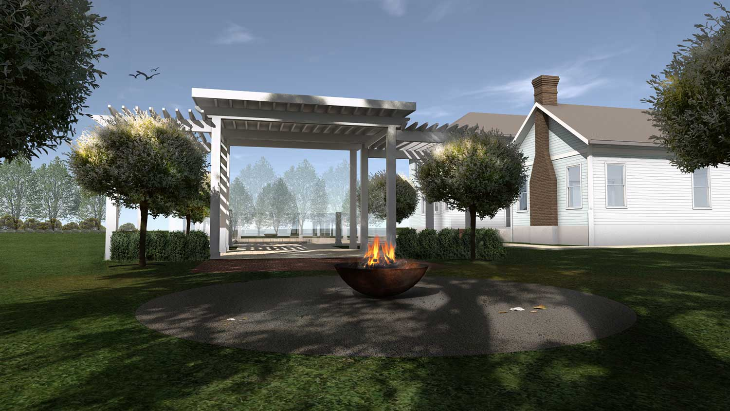 Hamptons in the Highlands, Passive cooling and heating design, Sembrano Design