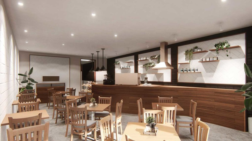 Café Design and Fit-out, Change of Use Application, Sembrano Design
