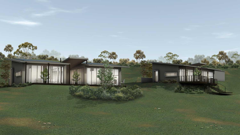 Farm Stay Accommodation, Prefab Construction, Sembrano Design
