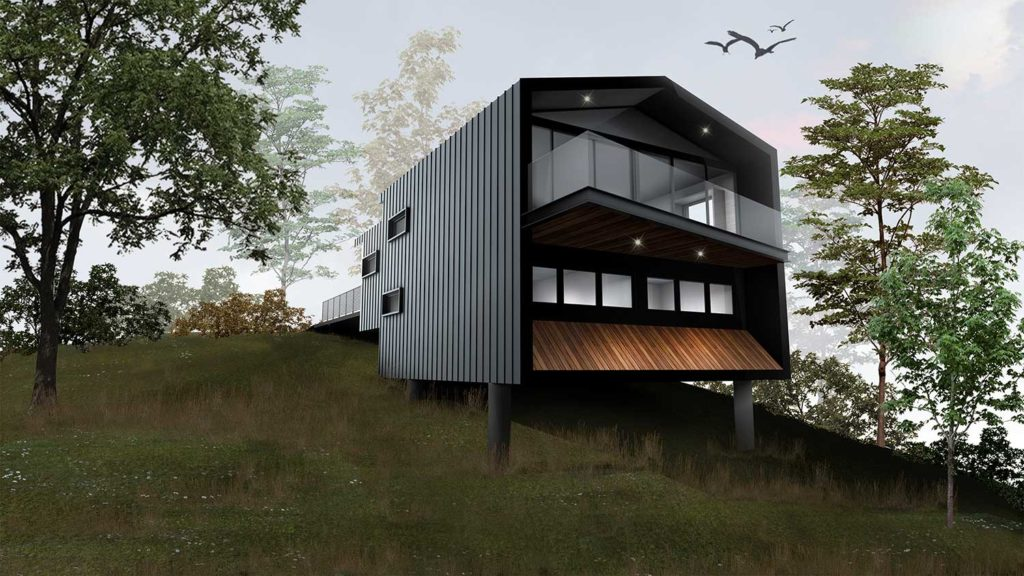 Contemporary Holiday Accommodation, Lake Crackenback, Snowy Mountains, Sembrano Design