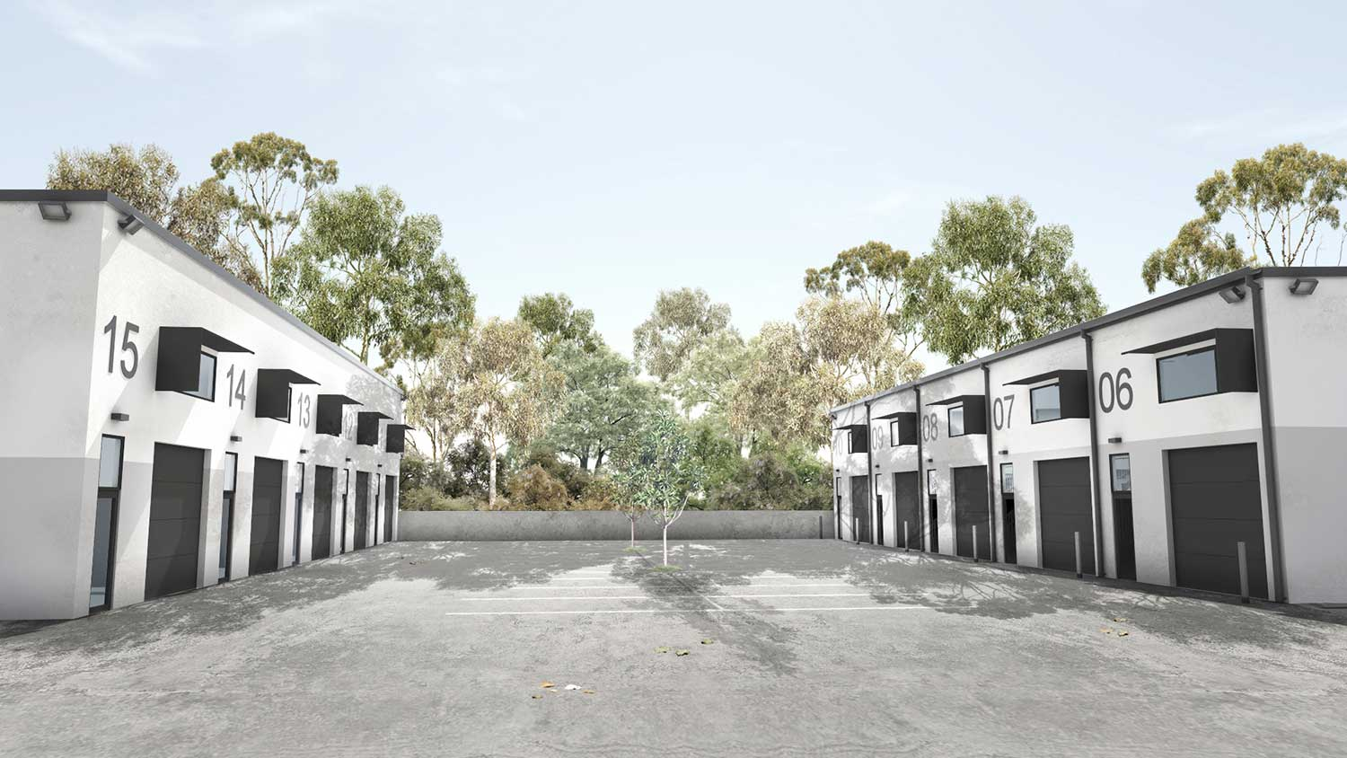 Industrial & Commercial Development, Highlands Spaces, Sembrano Design