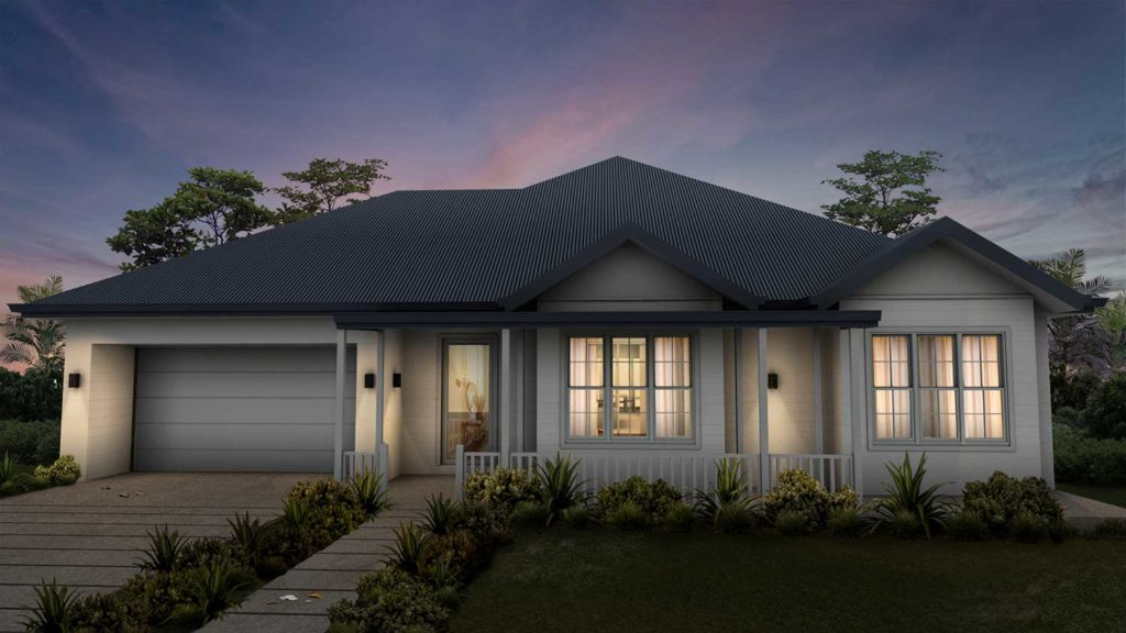 Single Storey Dwelling, Passive Cooling & Heating, Sembrano Design