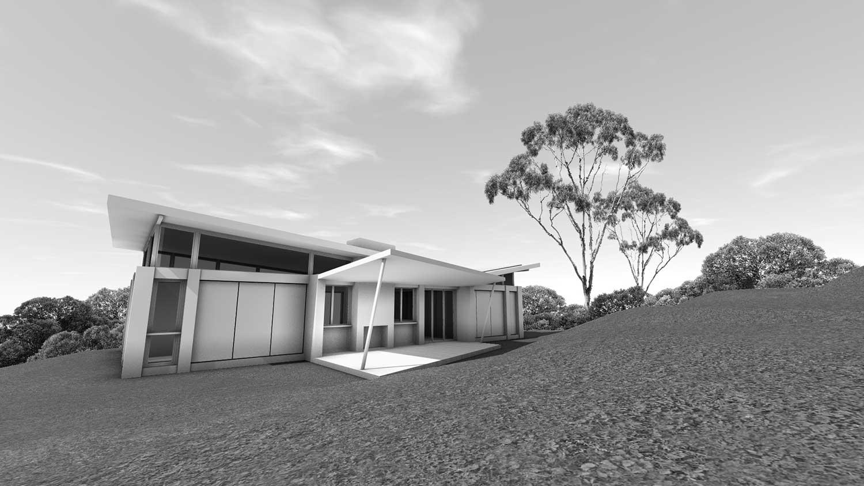 Artist's Studio & Accommodation, Prefab construction, Sembrano Design